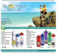 Sea Coast Bike Bottles